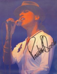 A075 - PAULINE BLACK Autographed top 10 x 8 photo